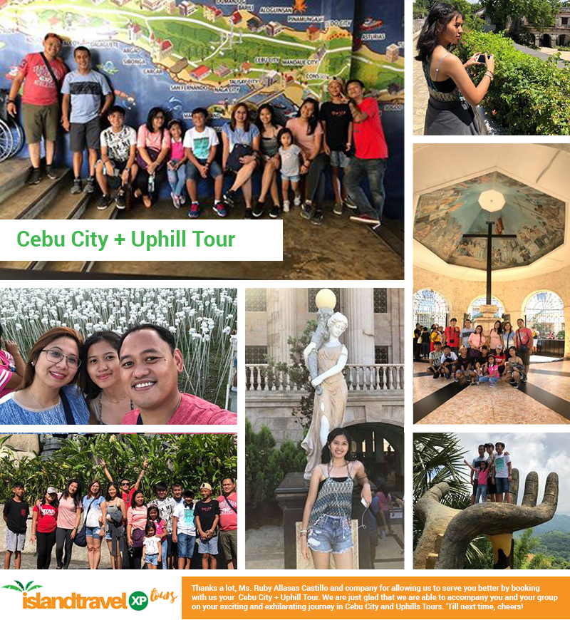 Cebu City + Uphill Tour - Ruby Allasas Castillo